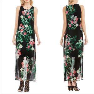 NWT XS tropical maxi dress